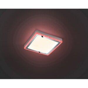 Reality Leuchten LED-Deckenlampe Slide Weiß 12 W EEK: A+