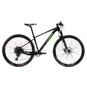 Mountainbike 29 Zoll Rockrider XC 100 12 Gänge schwarz/neon