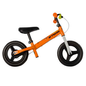 Laufrad Run Ride 500 10 Zoll Kinder orange