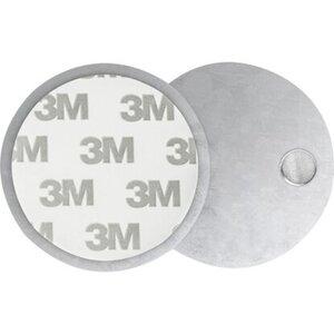 Magnetpad für Rauchmelder 6 cm x 6 cm x 0,5 cm