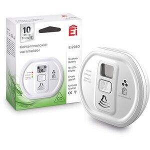 Ei Electronics Kohlenmonoxid-Melder Ei208D mit 10-Jahres-Batterie und Display