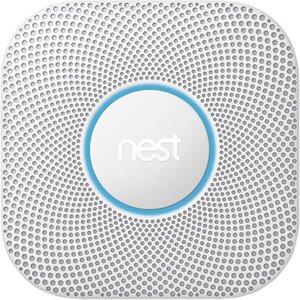 Nest Rauch- und Kohlenmonoxidmelder Protect 2. Generation Batteriebetrieben