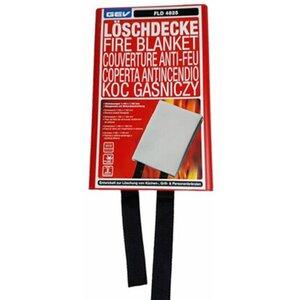 GEV Löschdecke FLD 4825 115 cm x 115 cm Weiß