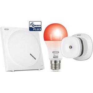 Abus Z-Wave Sicherheits-Set Schutz vor Brandschäden inkl. Lampen