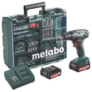 Metabo Akku-Bohrschrauber BS 14.4 Set Mobile Werkstatt