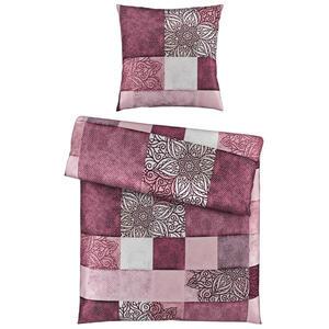Esposa Bettwäsche satin pink 155/220 cm , Onkali , Textil , Abstraktes , 155x220 cm , Satin , 004378014103