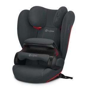 Cybex Kinderautositz pallas b-fix , 520004009 Pallas B-Fix , Grau , Kunststoff , 52x64x39 cm , matt , abnehmbarer und waschbarer Bezug, optimaler Aufprallschutz, schadstoffgeprüft, schnell und leich
