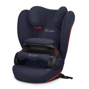 Cybex Kinderautositz pallas b-fix , 520004011 Pallas B-Fix , Dunkelblau , Kunststoff , 52x64x39 cm , matt , abnehmbarer und waschbarer Bezug, optimaler Aufprallschutz, schadstoffgeprüft, schnell und