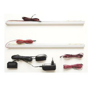 Carryhome Lichtleistenset , Maribor , Weiß , Kunststoff , 45x2x2 cm , 000196050210