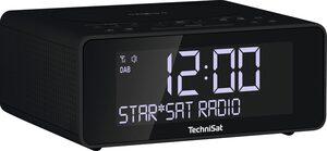 TechniSat »DIGITRADIO 52« Radiowecker (Digitalradio (DAB), UKW mit RDS, 2 W, Smartphone wireless charging Funktion, 2 Weckzeiten)