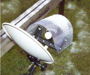 Regen- und UV-Schutz für LNBs von SAT-Anlagen