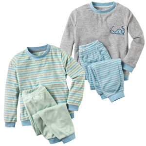 KUNIBOO®  Kleinkinder-Frottee-Pyjama