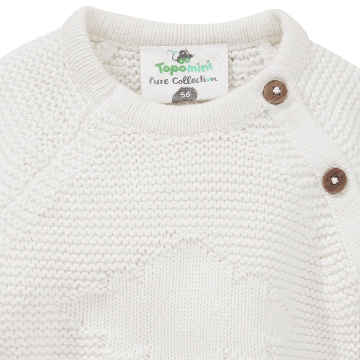 Bild 2 von Newborn Strickjacke aus Bio-Baumwolle