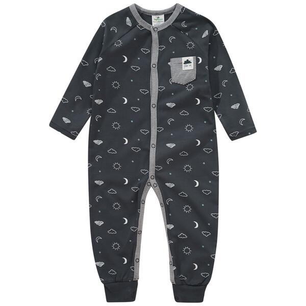 Baby Schlafanzug mit Allover-Motiv