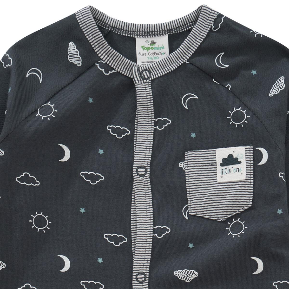 Bild 2 von Baby Schlafanzug mit Allover-Motiv