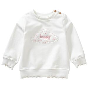 Baby Sweatshirt mit Wolken-Applikation