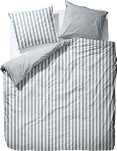 Marc O´Polo Mako-Satin Wendebettwäsche Classic Stripe  Streifen überlang#französische Größe 200x220 cm (80x80 cm)