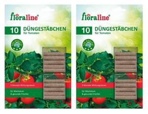 Düngestäbchen für Tomaten 2 x 10er Set