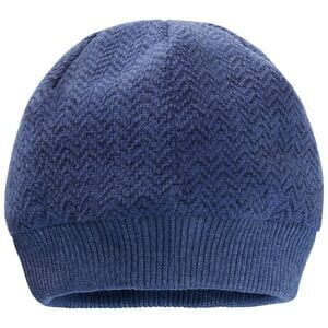 Jack Wolfskin Patan Cap Women Winddichte Strickmütze M blau lapiz blue