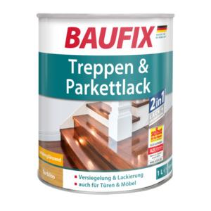 Baufix Treppen & Parkettlack seidenglänzend, farblos