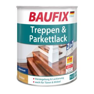 Baufix Treppen & Parkettlack seidenmatt, farblos