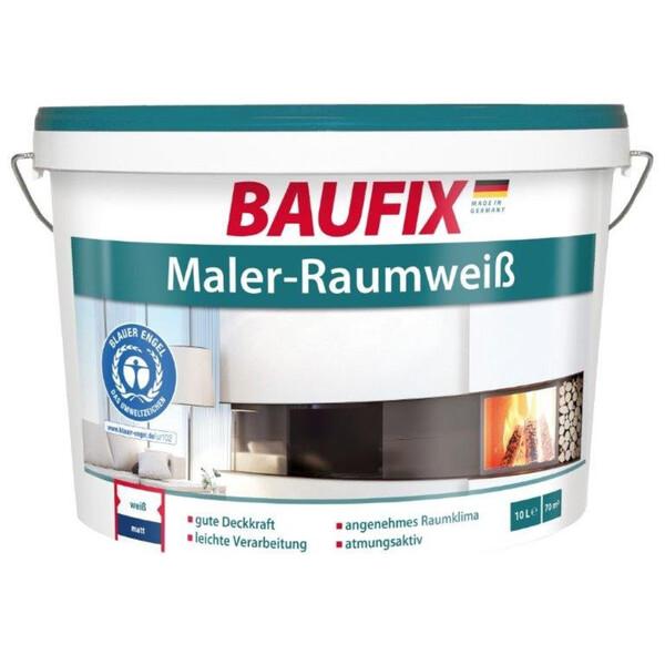 Baufix Maler-Raumweiß, 10 l