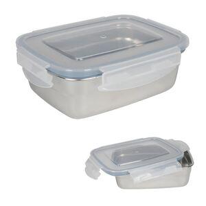 Edelstahl-Lunchbox mit Klickverschlussdeckel 350ml