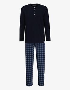 Tom Tailor - langer Pyjama mit karierter Hose
