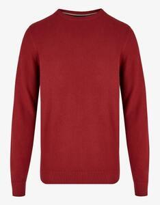 Bexleys man - Unifarbener Pullover mit Struktur