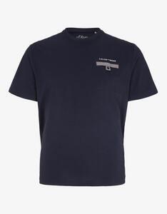 s.Oliver - T-Shirt mit Brusttasche