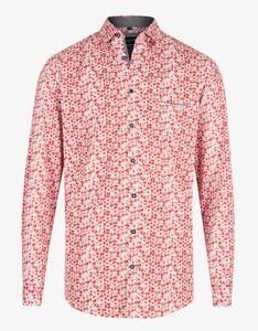 Bexleys man - Langarmhemd mit Punkteprint, REGULAR FIT