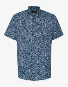 Bexleys man - Freizeithemd, kurzarm, bedruckt