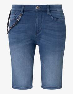 Tom Tailor - Jeans-Shorts mit Schlüsselbund