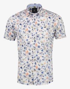 Lerros - Hemd im sommerlichen Allover-Print
