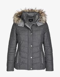 Bexleys woman - Steppjacke mit Flanell-Details