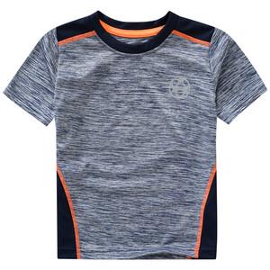 Jungen Sport-T-Shirt mit Neon-Details