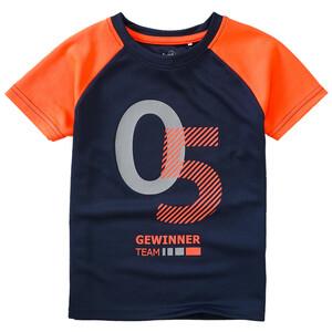 Jungen Sport-T-Shirt mit Neonakzenten