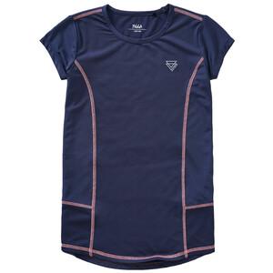Mädchen Sport-T-Shirt mit Mesh-Einsätzen