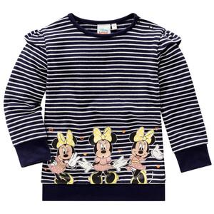 Minnie Maus Sweatshirt im Ringel-Look