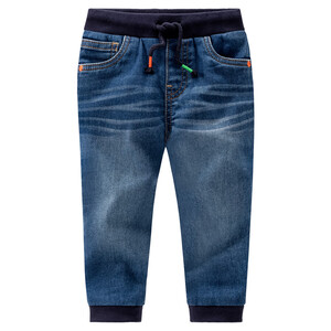 Baby Jogpants aus Denim