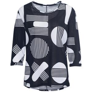 Damen Shirt mit 3/4 Ärmeln