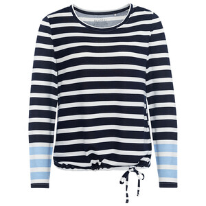 Damen Langarmshirt im maritimen Dessin
