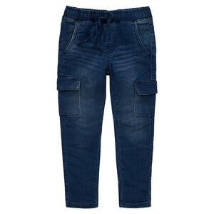 Jungen Pull-on-Jeans mit Tunnelzug