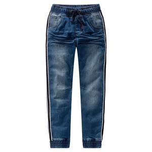 Jungen Pull-On-Jeans mit Galonstreifen