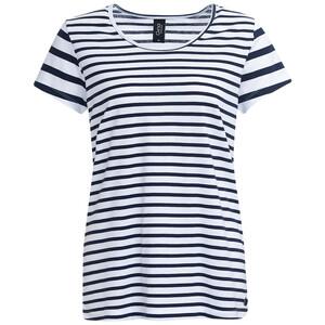 Damen T-Shirt mit Streifenmuster