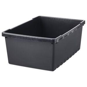 UPPSNOFSAD Box, schwarz