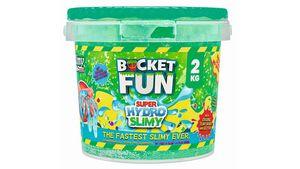 Slimy - Bucket Fun - Super Hydro Slimy 2 kg, farblich sortiert