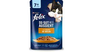 felix Katzennassfutter So gut wie es aussieht in Gelee Senior mit Huhn