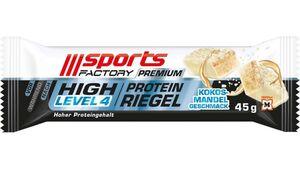 SPORTS FACTORY Proteinriegel Level 4 DLX Kokos-Mandel