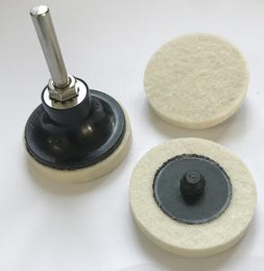Kraft Werkzeuge Filz-Polierscheiben-Set 6tlg.